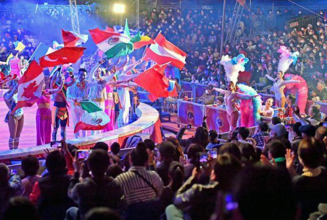 初日から満席となったポップサーカス宇都宮公演