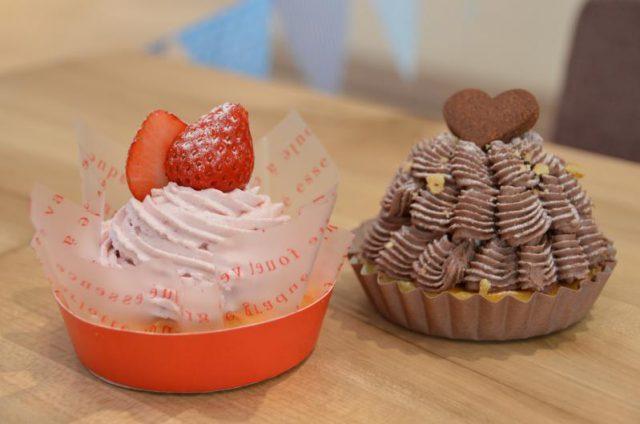 8日発売の「苺モンブラン」と「チョコモンブラン」